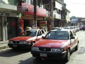 taxistas de tuxpan