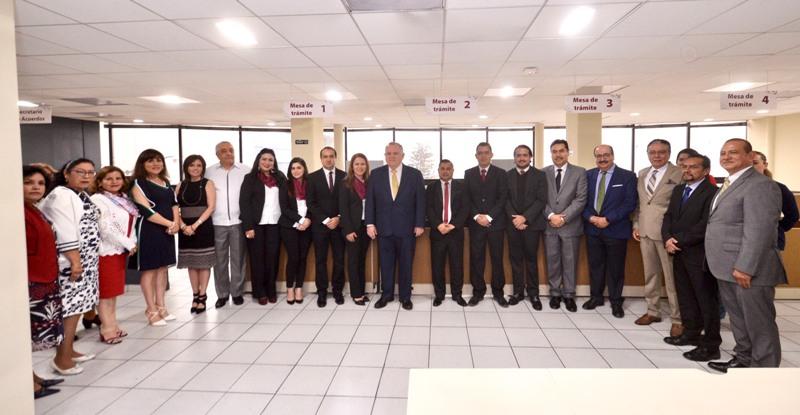 Poder Judicial pone en marcha el Juzgado Décimo Sexto de Primera Instancia en materia civil y mercantil