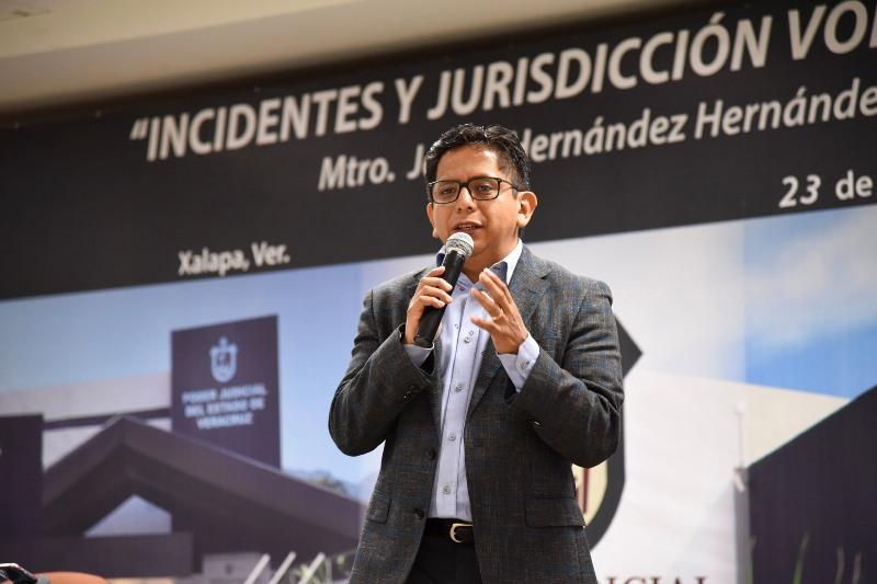 Aspirantes a jueces microrregionales del Poder Judicial del Estado reciben capacitación en materia de jurisdicción voluntaria y medios de impugnación